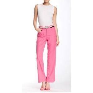 NYDJ Linen Wide Leg Flowy Trouser Pants